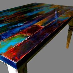 95 Best Distressed Tables Images In 2019 Painted Furniture Drift
