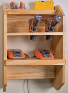 """Outstanding """"power tool storage"""" detail is offered on our web pages. Read more and you wont be sorry you did. Woodworking Bench Plans, Woodworking Workshop, Woodworking Projects, Woodworking Shop, Woodworking Videos, Power Tool Storage, Power Tools, Kreg Tools, Workshop Organization"""