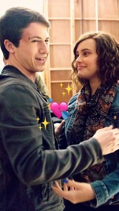 Dylan Minnette & Katherine Langford | pinterest: suzaneone