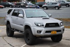 Lifted 4runner, 2003 Toyota 4runner, 4th Gen 4runner, Suv Trucks, Toyota Trucks, Toyota Runner, Toyota Lift, Mom Mobile, 4runner Accessories