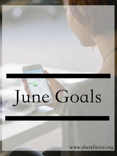 Goal-setting for the upcoming weeks is one of my favorite parts of a  new month.