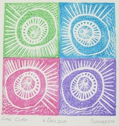 Lino Printing Class with Melanie Brummer.  info@dyeandprints.co.za