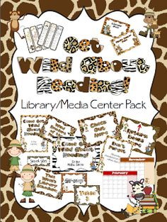 The Book Bug: New Get Wild About Reading Theme