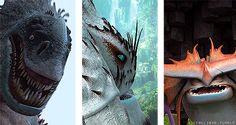 Dragons: Red Death, Queen; Bewilderbeast, Alpha; Stormcutter, Cloudjumper