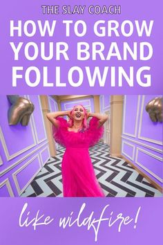 6 ways to grow your brand following like wildfire. Blog post by The Slay Coach Jamie King. It's called unique branding, slayers, and it's kinda my jam. Unique branding is the difference between drowning amidst a sea of carbon-copy, neutral-tone wearing hipsters who are spitting out the same yawn-inducing coaching rhetoric OR positioning yourself as a larger than life leader who gets people screaming 'just take my money already!' whenever you so show up online. #branding #brandtips…