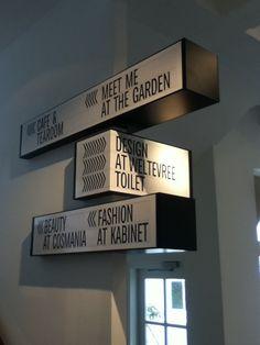 droog hotel signage