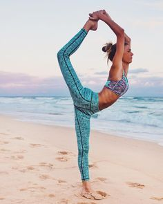 Yoga ✿ Sports ✿ Beach ✿ Sea ✿ Blue ✿ Fit ✿ #Yoga