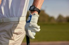 To fine-tune your game, this smartwatch is able to track how many fairways you hit, and putts per round.