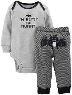 We're betting your newborn is batty for mommy this Halloween season!