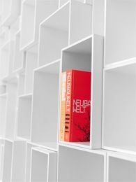 Cubit, the expandability and flexibility of the Cubit shelf system is suitable for growing libraries