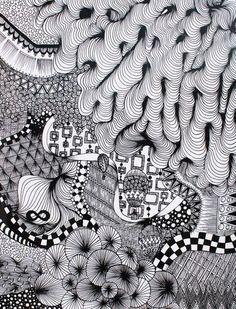 Zentangle inspiration.