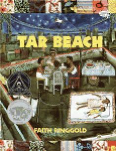 Tar Beach has fantastic illustrations by Faith Ringgold.  The material might be a little heady for the younger ones but overall a great story about life being what you make it.