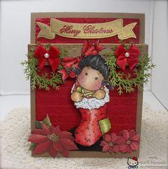 A wonderful Christmas card from Karli Miranda.