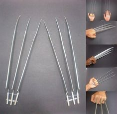 Wolverine Claws OMG I WANT THEM SHUT UP AND TAKE MY MONEY WOULD GO NICE TO all MY BLINK 182 STUFF