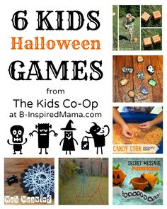 Kara's Classroom Halloween Story Stones featured on 6 Kids Halloween Games from The Kid's Co-OP