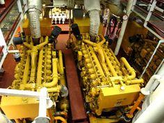 Ship's engines