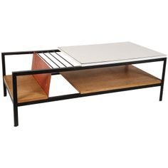 Rare Glenn of California Coffee Table | From a unique collection of antique and modern coffee and cocktail tables at http://www.1stdibs.com/furniture/tables/coffee-tables-cocktail-tables/