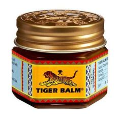 nothing beats sore muscles like tiger balm.