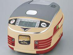 【KLTニュース】JR西日本商事が今春で引退する特急電車を模した炊飯器を発売。「是非車内でご飯を炊いてほしい」  ※編集部より:コンセント付きの車両は新型車両のみです。ご了承ください。