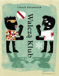 Dustin Parker, Fight Club (entry for the 50 Watts' Polish Book Cover Contest)