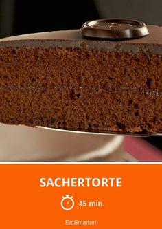Sachertorte - smarter - Zeit: 45 Min. | eatsmarter.de