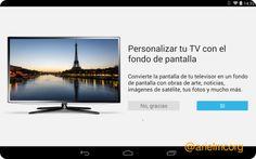 #APP – Se actualiza Chromecast permitiendo fondos personalizados | Infosertec