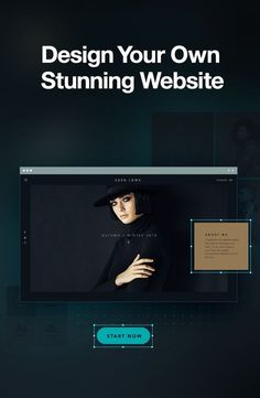 Creating a website isn�t always black and white. You can create yours in any color.
