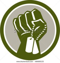 Illustration of a clenched fist clutching holding dogtag viewed from front set inside circle done in retro style.The zipped file includes editable vector EPS, Retro Vector, Military Art, Lululemon Logo, Memorial Day, Dog Tags, Retro Fashion, Retro Style, Retro Illustrations, Artwork