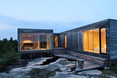 Cabin Inside / Out, Hvaler, Norway by Reiulf Ramstad Architects.