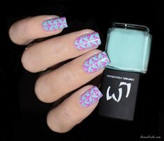 LMcosmetic - Vernis Stamping 11 Menthe