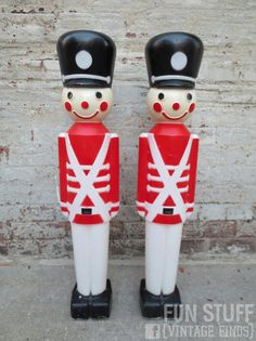 vintage christmas toy soldiers lights fun stuff vintage finds kansas city - Toy Soldier Christmas Decoration
