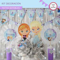 Frozen: decoración de fiesta - Todo Bonito