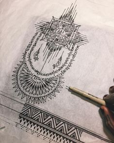 35 Ideas For Travel Tattoo Mandala Design Buddhist Symbol Tattoos, Buddhist Symbols, Buddha Tattoos, Symbolic Tattoos, Tatuaje Khmer, Tatuagem Sak Yant, Sak Yant Tattoo, Thai Tattoo, Khmer Tattoo