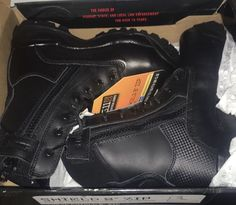 "New 511 8"" Shield Waterproof Tactical Fast Response Zip Boots #511Tactical #WorkSafetyorTactical"