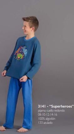 Y para los peques de la casa Pijama Kukuxumusu modelo superheroes en algodón 100%