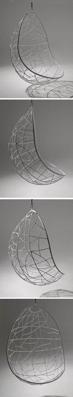 Hanging Chair Nest Egg. www.studiostirling.co.za