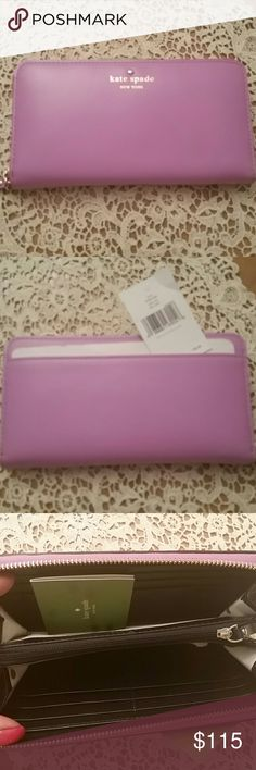 Kate spade Tudor city wallet Beautiful color for the spring and summer:) kate spade Bags Wallets