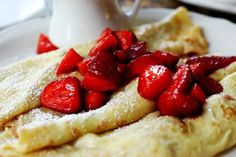 I want crepes right now.