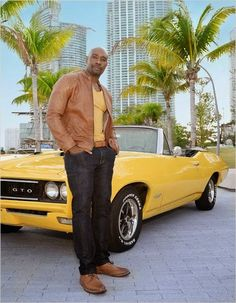 Morris Chestnut and his new Fox show Rosewood!  Tune in September 23rd!