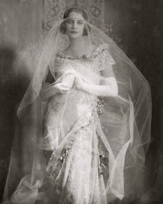 Wedding Gown, Vogue, 1921