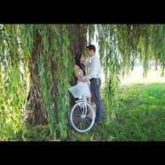 Fahrrad einsetzbar für Hochzeiten www.traunschoen-dekoverleih.de