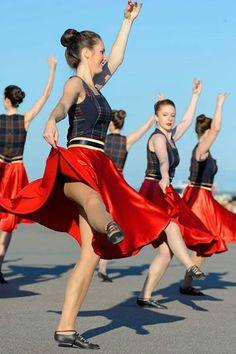 Photo: Photo by MCpl Issa Pare Scottish Highland Dance, Dance Supplies, Ballet Flats, Ballet Skirt, Ballerina Dancing, Dance With You, Balerina, Dance Choreography, Kilts