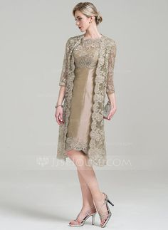 Mother of the bride and groom Vintage lace Dress and Coat Hats ...