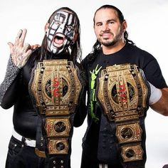 The Hardys TNA Tag Team Champions