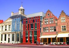 Old and new blend together beautifully at the  MuZEEum, Vlissingen, Zeeland, The Netherlands