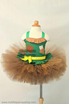 Scarecrow (Wizard of Oz) Tutu Outfit Costume