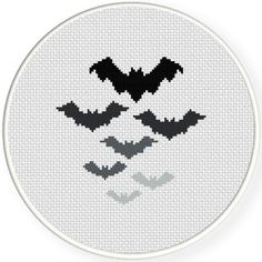 FREE for Oct 15th 2015 Only - Bats Cross Stitch Pattern