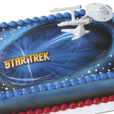 Star Trek USS Enterprise Cake Decorating Kit