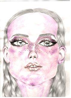 Por María Fernanda Rovaina #watercolor #acuarela