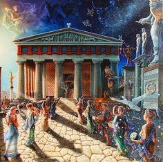 Temple of Apollo, Delphi, Greece Archaic Greece, Ancient Greece, Ancient Egypt, Classical Greece, Classical Period, Mycenaean, Minoan, Greek History, Ancient History